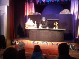 Puppet show, Portland, Maine