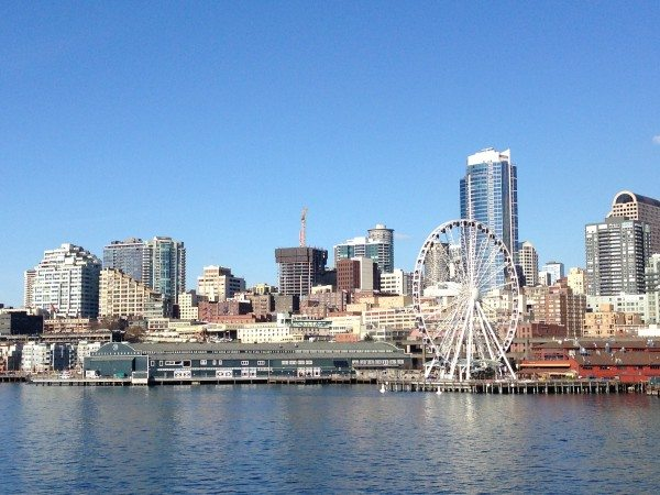 View of Seattle from West Seattle