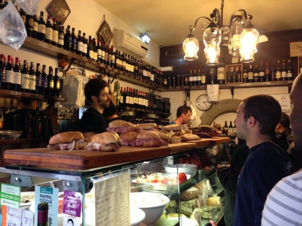 Deli sandwiches in Florence