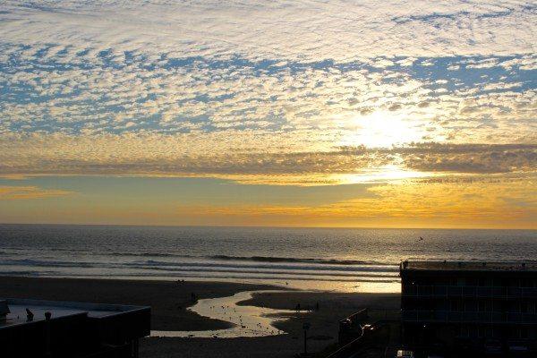 Sunsetat the Shearwater