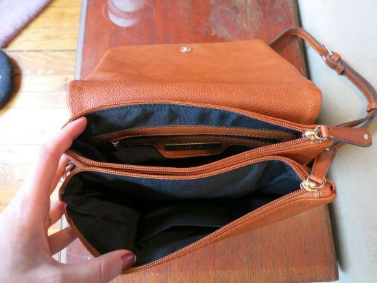 Street Level Demi Fold Over Vegan Leather Crossbody Bag - Stitch Fix
