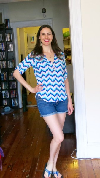 Pixley Edmond Chevron Print Henley Shirt - Stitch Fix