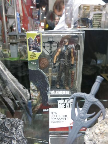 Everyone's favorite redneck: Daryl Dixon action figure with his bandanna mask (McFarlane).