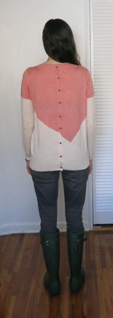 41Hawthorn Presley Colorblock Button-Back Sweater - Stitch Fix