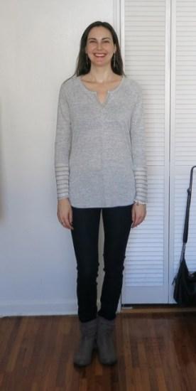 Loveappella Tiffina Knit Top - Stitch Fix