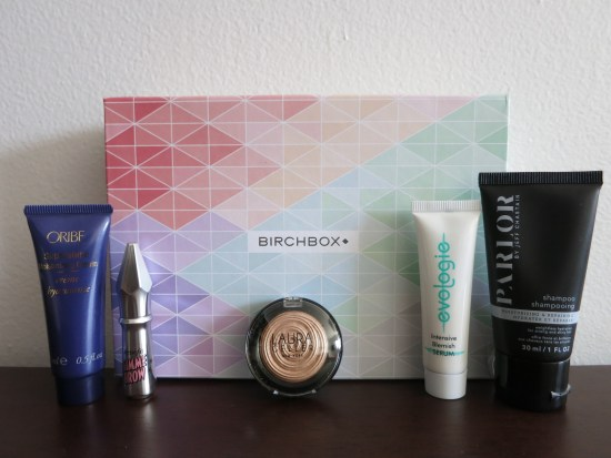 June 2016 Birchbox samples
