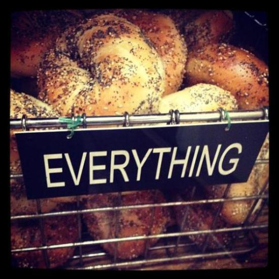 David's Bagels are literally everything. Photo credit: lifeaccordingtokait.wordpress.com