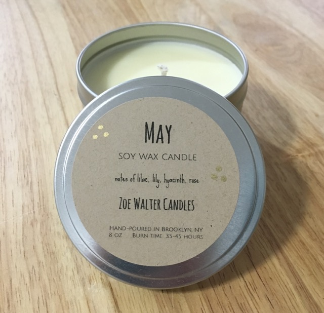 Zoe Walter Candles May Soy Wax Candle