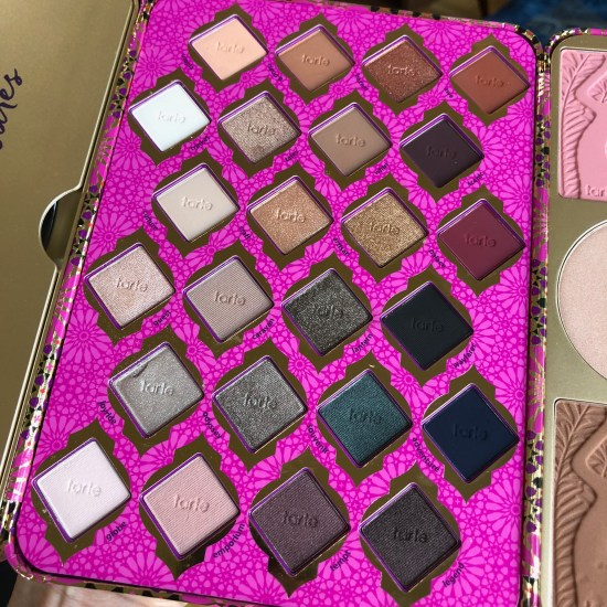 Tarte Limited-Edition Treasure Box Collector's Set Eyeshadows
