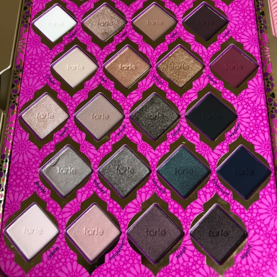 Tarte Limited-Edition Treasure Box Collector's Set Eyeshadow Detail