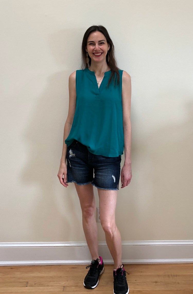Papermoon Fayette Mixed Material Blouse | Stitch Fix