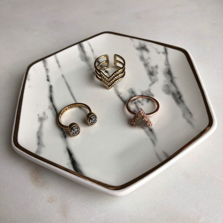 Pier 1 Imports Marble Ring Dish | FabFitFun