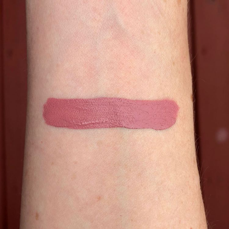 Too Faced Melted Matte Liquified Long Wear Matte Lipstick in Queen B swatch