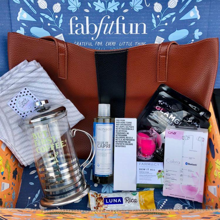 FabFitFun Fall 2018 Box