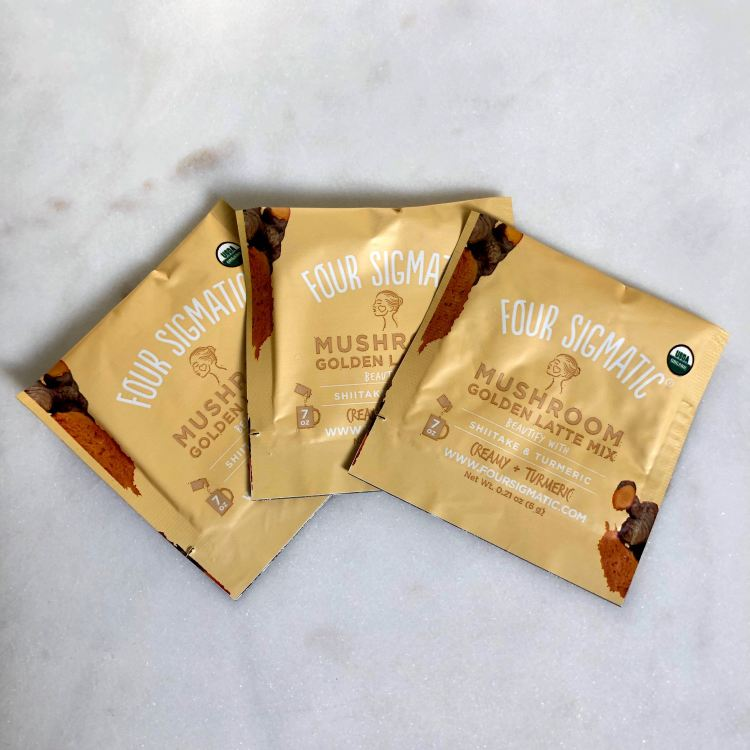 Four Sigmatic Golden Latte Mushroom Mix with Shiitake & Turmeric | Play! by Sephora