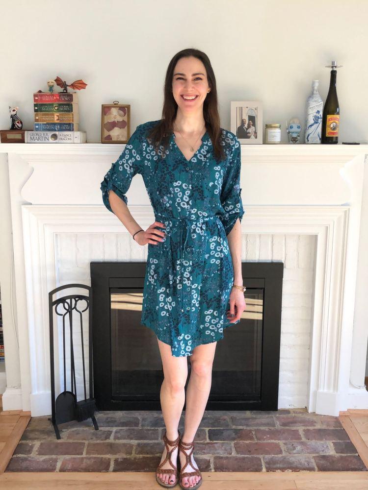 41 Hawthorn Cristen Shirt Dress | Stitch Fix