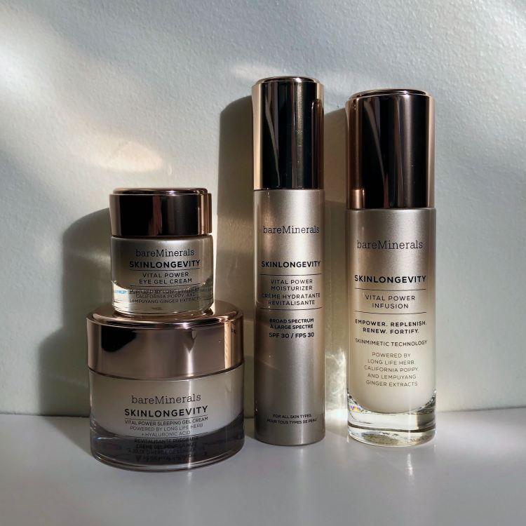 bareMinerals SkinLongevity Skin Care