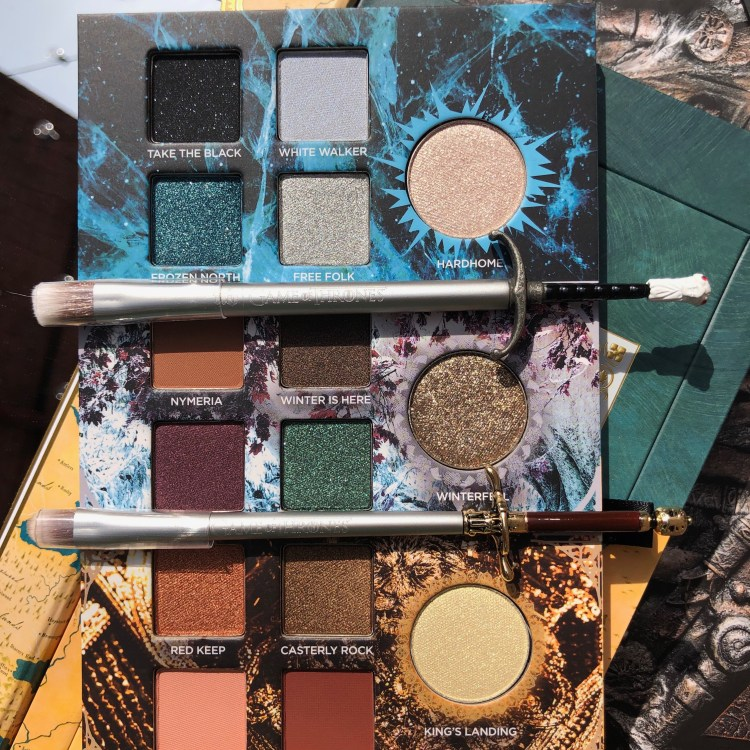 Game of Thrones eyeshadow brushes