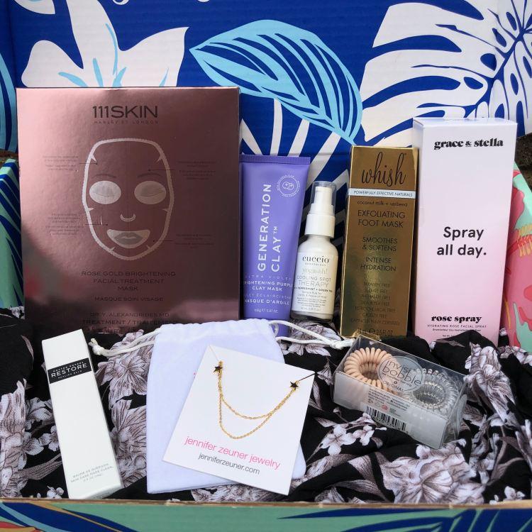 FabFitFun Summer 2019 products