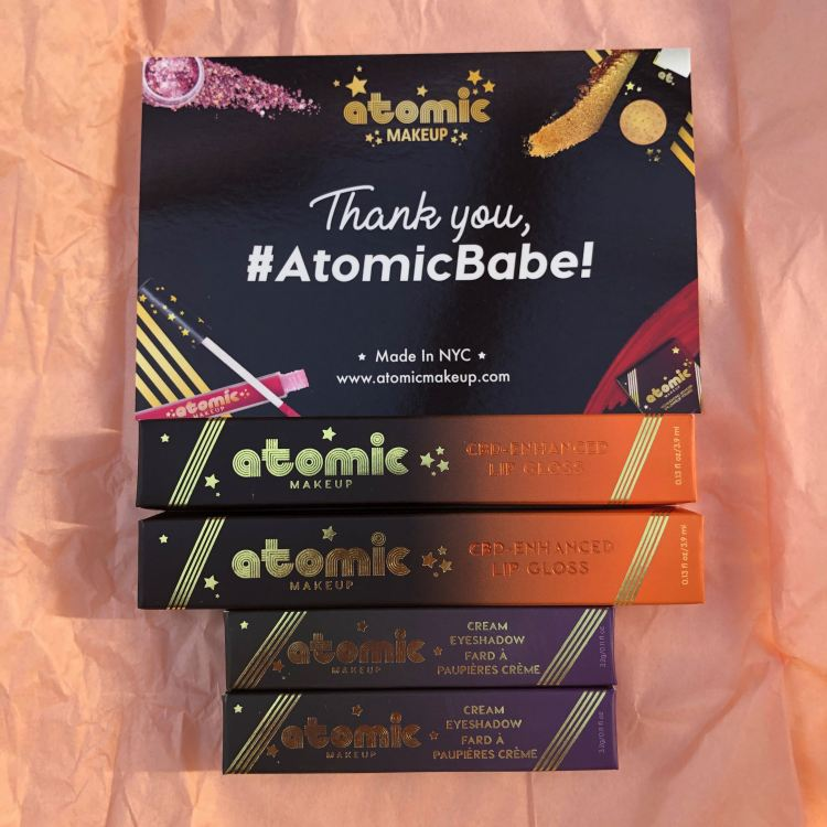 Atomic Makeup PR package