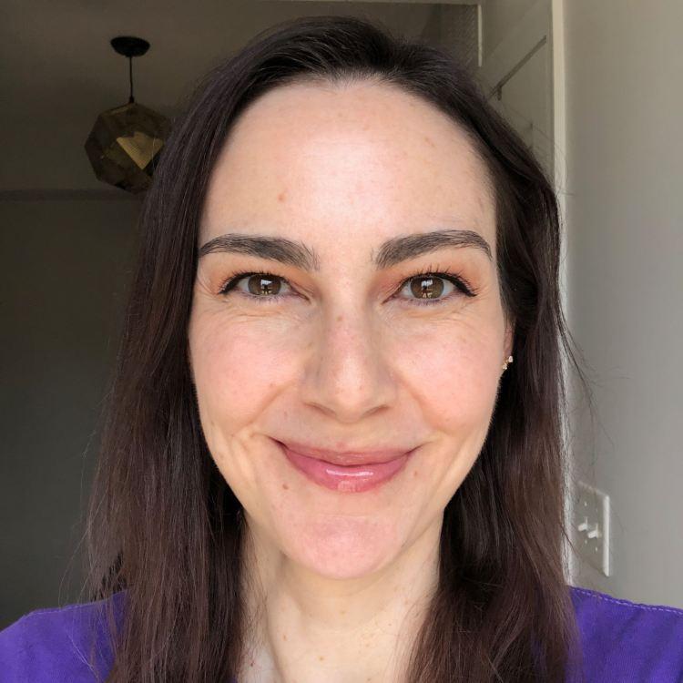 Atomic Makeup CBD-Enhanced Lip Gloss in Nectar