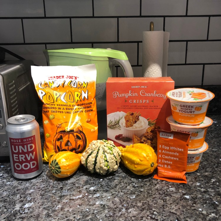 Trader Joe's pumpkin goodies
