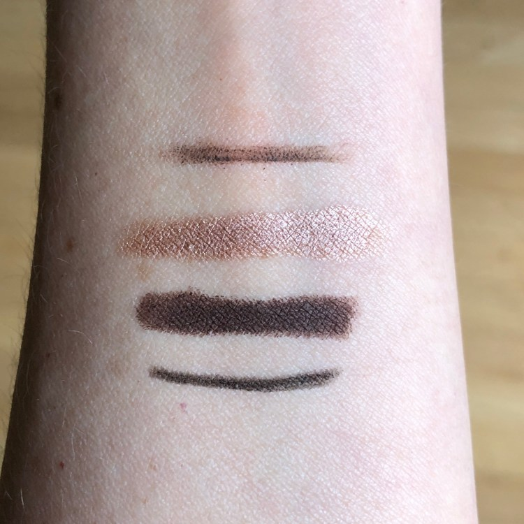 Trèstique Mini kit swatches