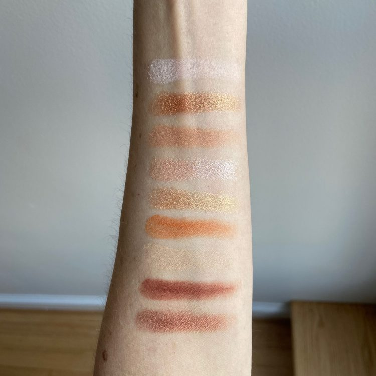 Proof is in the Puddin' swatches