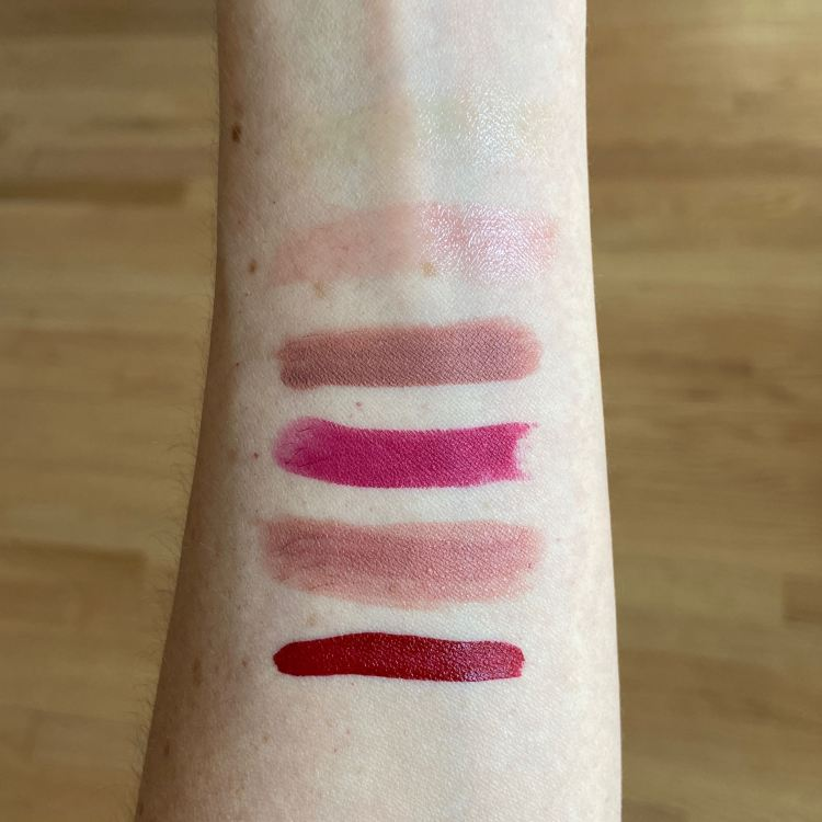 Give Me More Lip 2019 swatches