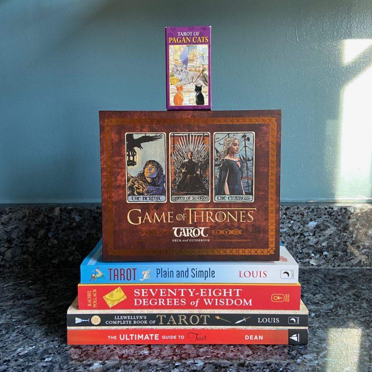 Tarot Cards and Books