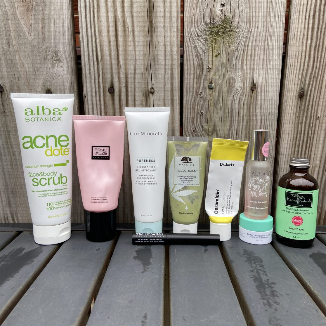 March beauty empties