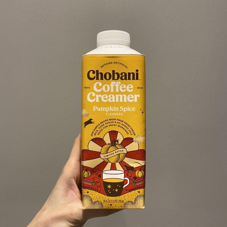 Chobani Pumpkin Spice Creamer