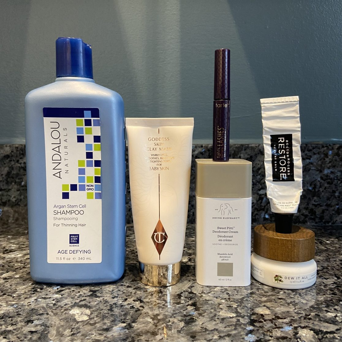 January beauty empties