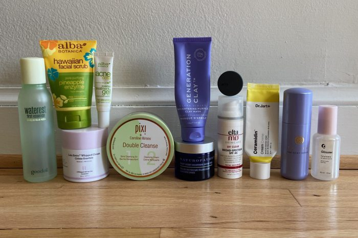 March facial care empties