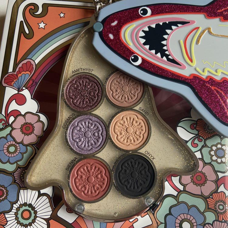 Coach x Sephora Collection Sharky Palette shades