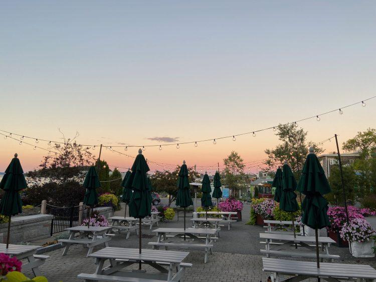 Sunset in Bar Harbor