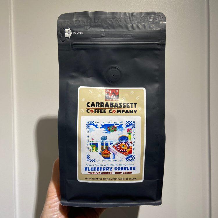Carrabassett Coffee Company Blueberry Cobbler coffee
