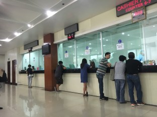 Chinese Embassy Counters
