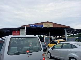 Brunei Immigration at Kuala Lurah
