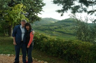 Mom and Dad in Verona