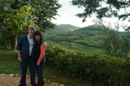 Mom and Dad in Verona