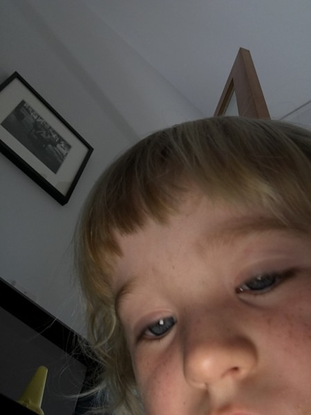 Lily self portrait