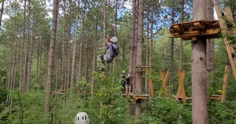 A Treetop Zipline Adventure