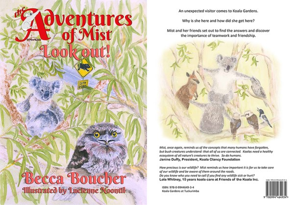 Cover of Look out - Adventures of Mist book 2
