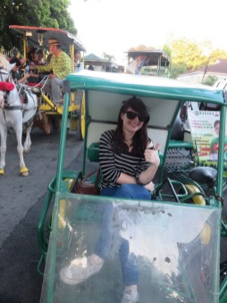 Tricycle riding in Manila