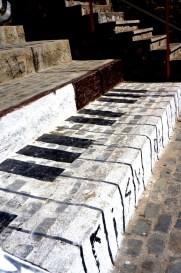 Piano steps!