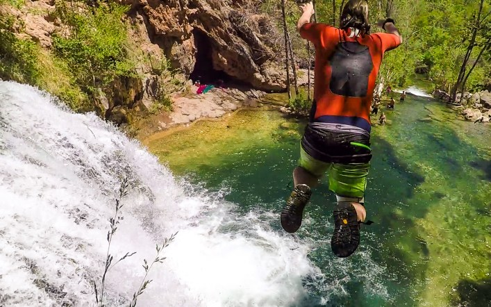 One of Arizona's Best Swimming Holes: Fossil Creek