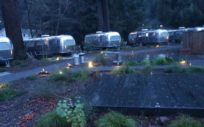 AutoCamp Glamping in Sonoma,California
