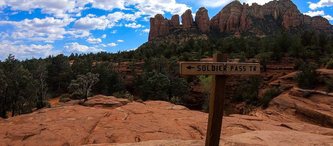 Soldier Pass Trail in Sedona, Arizona