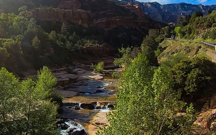 Slide Rock State Park, Arizona